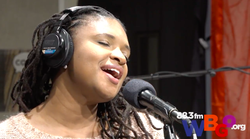 Lizz Wright in our studio, as part of Terri Lyne Carrington's tribute to Geri Allen