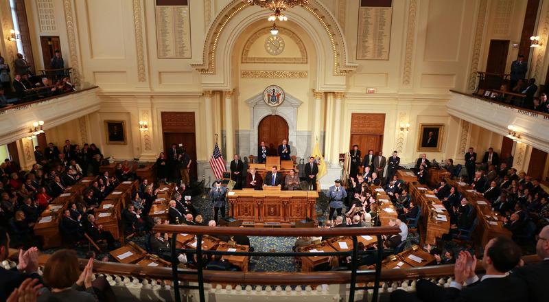 Gov. Christie speaks at joint session of NJ legislature