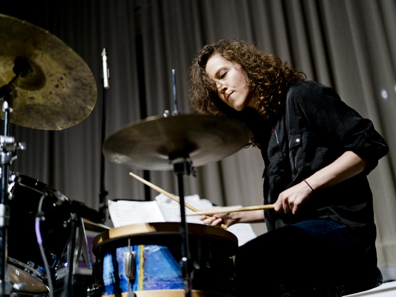 Drummer Kate Gentile leads her New Quartet at the New School