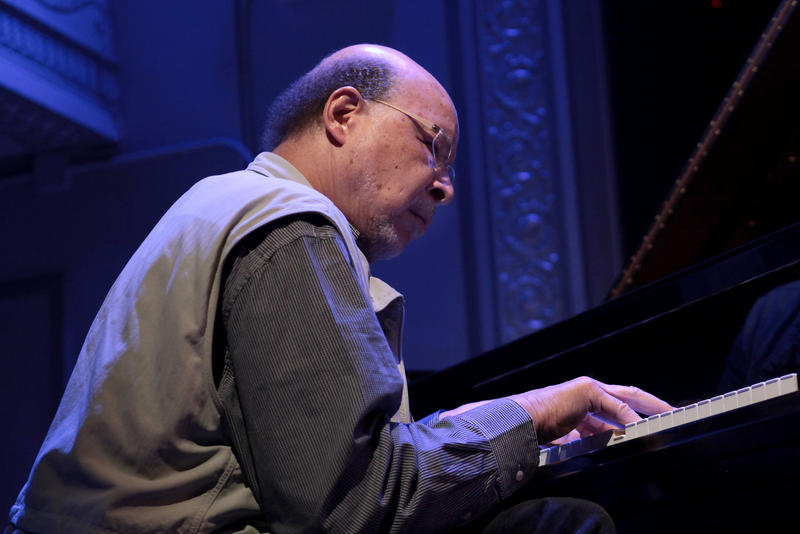 Dave Burrell performing at Roulette during the 2012 Vision Festival