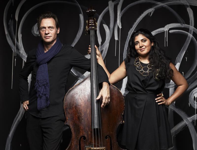 François Moutin and Kavita Shah, whose new album is 'Interplay'