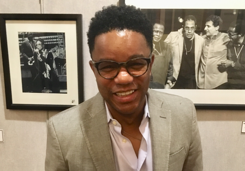 Stefon Harris, who will will give the keynote at the MTW Lecture Series at Rutgers University-Newark.