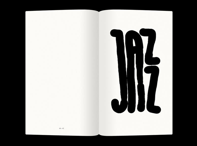 A page from 'The big jazz book,' by Bartholomaus Zientek