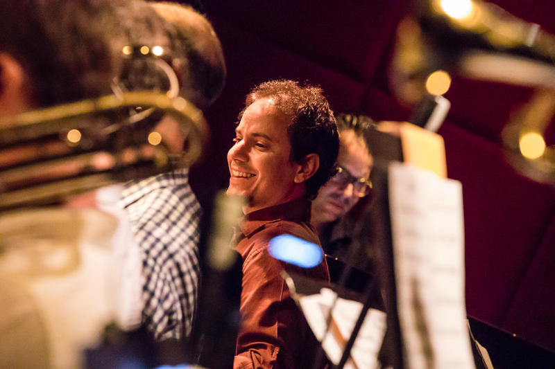 Drummer and composer Dafnis Prieto, whose new big band album is 'Back to the Sunset'