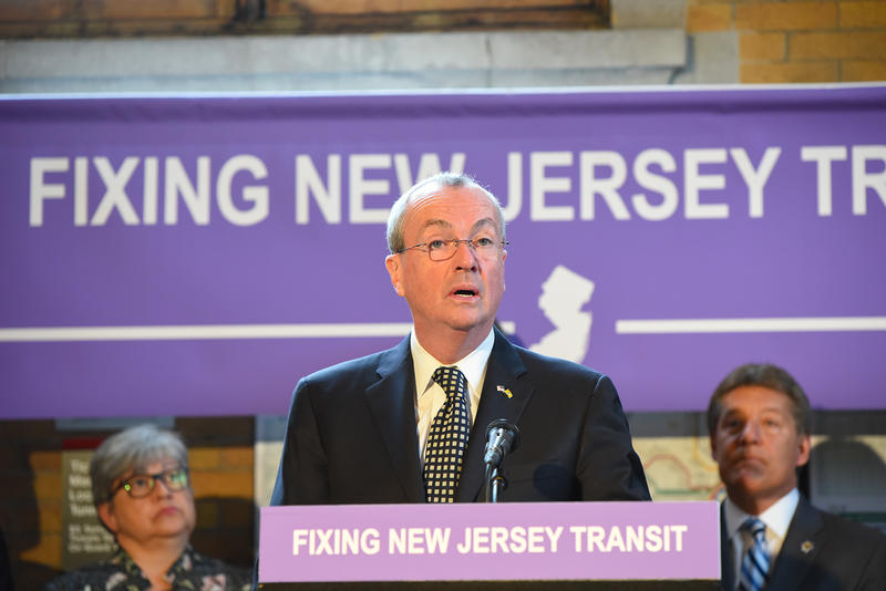 Governor Phil Murphy says improving the transit system is a priority.