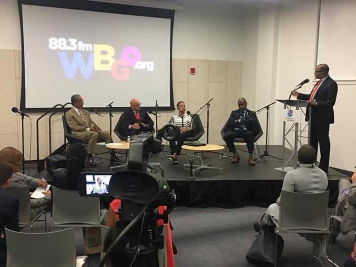 Newark Today with Mayor Ras Baraka and host Michael Hill of NJTV