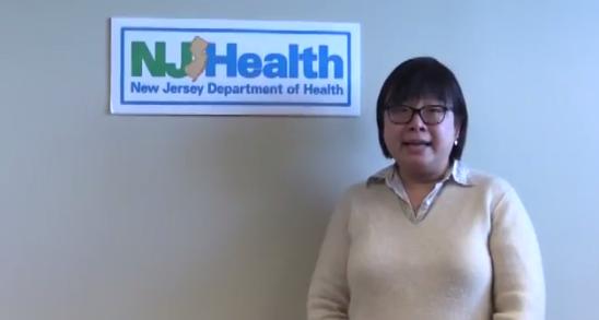 New Jersey state epidemiologist Dr. Tina Tan