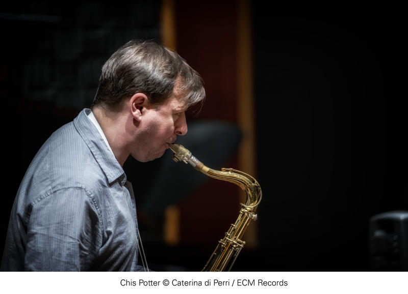Saxophonist and clarinetist Chris Potter