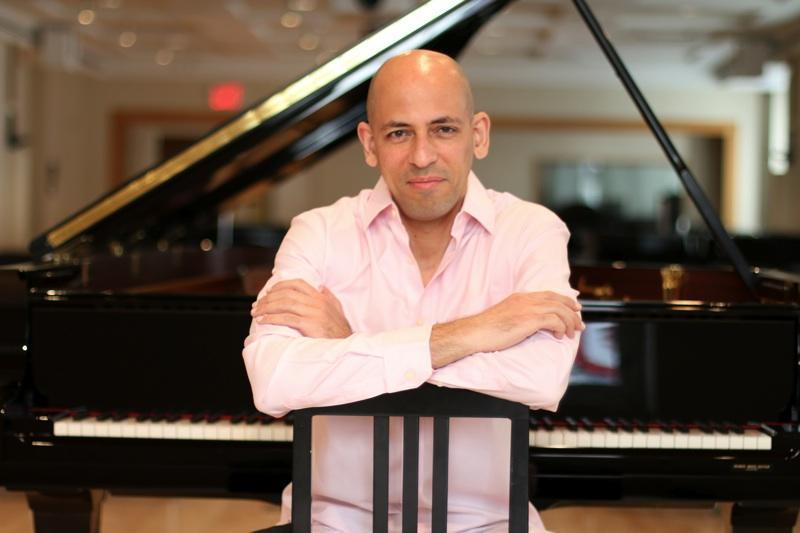 Pianist Edward Simon, whose new album is 'Sorrows and Triumphs'
