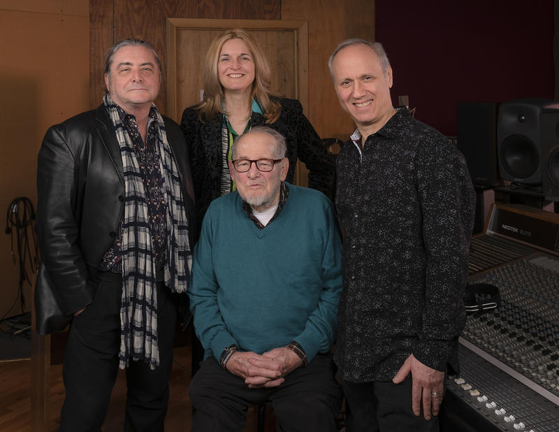 Delmark Records, past and present: Elbio Barilari, Julia Miller, Bob Koester, Steve Wagner