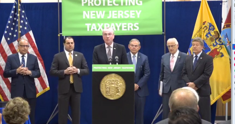 Governor Murphy and lawmakers say the plan will help offset impact of federal tax changes.