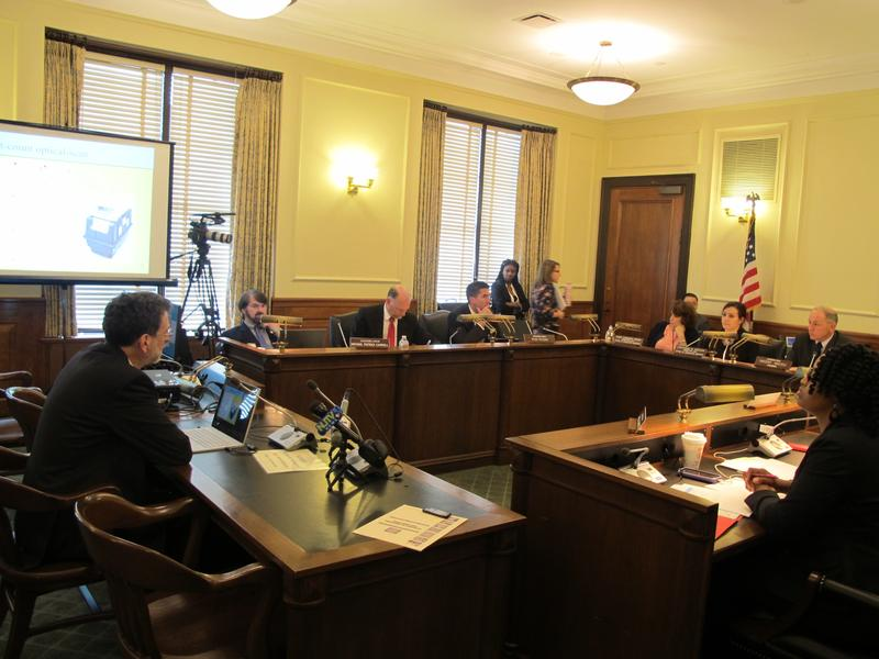 Princeton University professor Andrew Appel testifies at legislative hearing