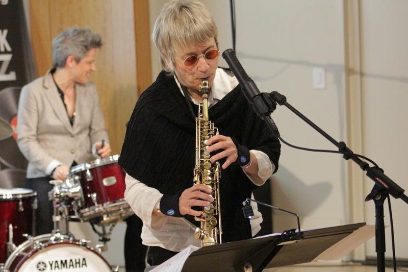Jane Ira Bloom performs 'Wild Lines: Improvising Emily Dickinson' at the WBGO Yamaha Salon, April 12, 2018
