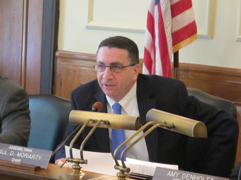 Assemblyman Paul Moriarty