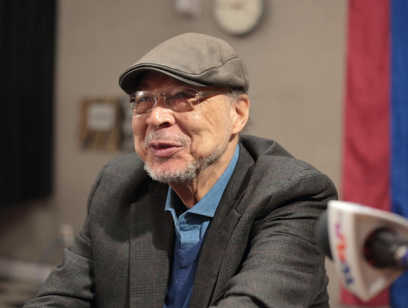 Pianist Dave Burrell in the WBGO performance studio, April 18, 2018