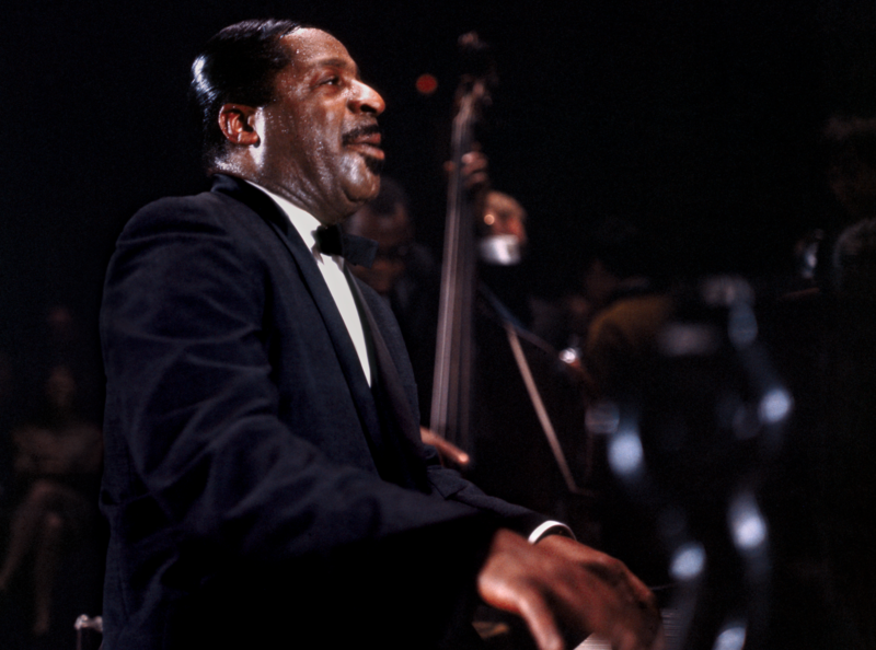 Erroll Garner at the Royal Concertgebouw in Amsterdam in Nov. 1964, now captured on 'Nightconcert'