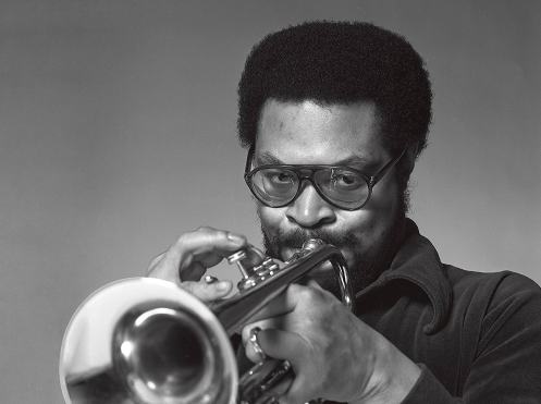 Trumpeter Woody Shaw, in an image from the new album 'Tokyo '81'