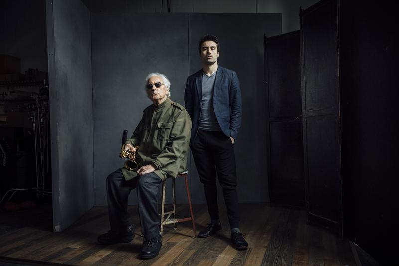 Lee Konitz and Dan Tepfer, whose new album is 'Decade'