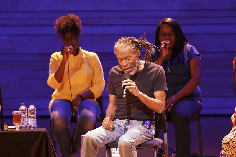 Bobby McFerrin with the Jireh Gospel Choir at the 2018 Montreal Jazz Festival