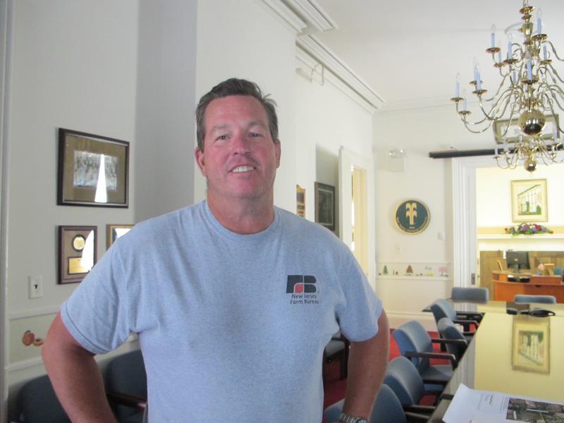 New Jersey Farm Bureau president Ryke Suydam