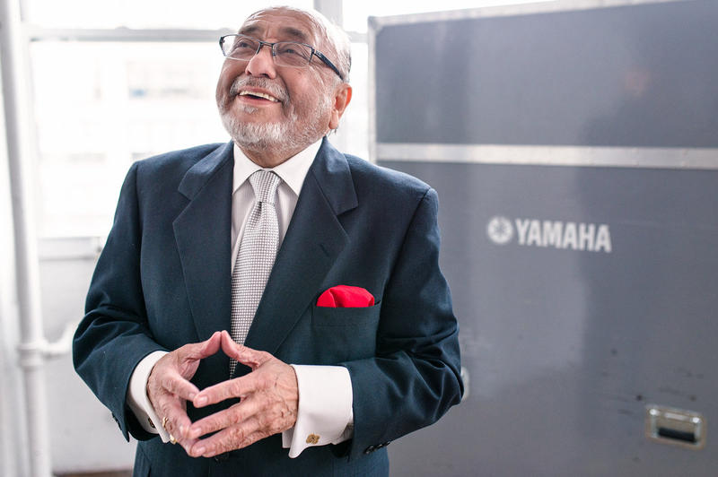 Eddie Palmieri, whose new album is 'Full Circle