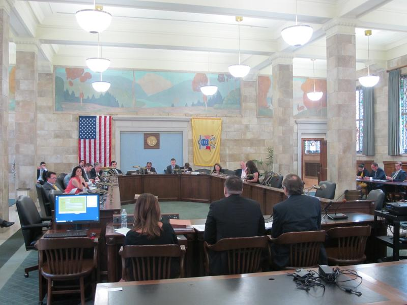 The Senate Budget Committee hears testimony on the proposed change.