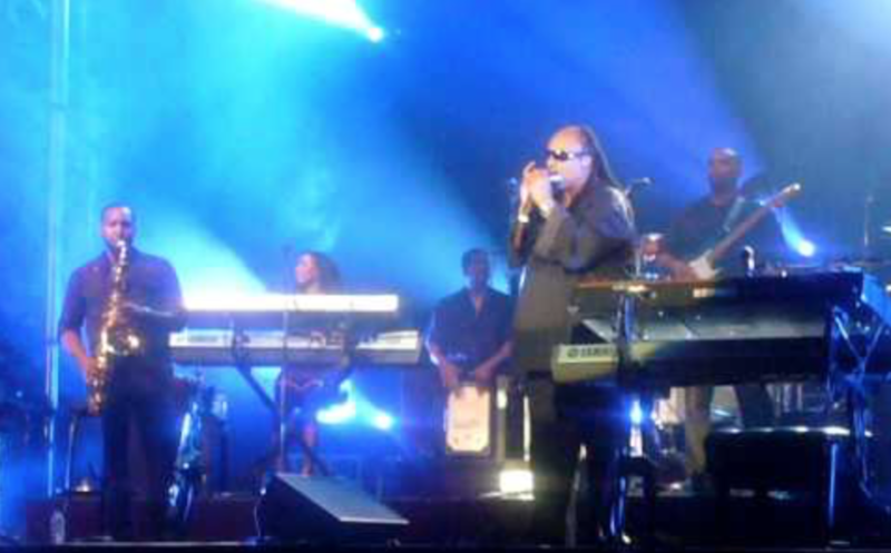 Stevie Wonder performs at Montreal Jazz Festival 2009.
