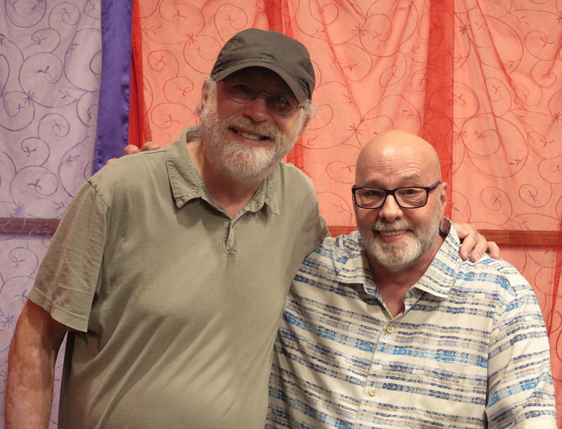 Pianist Bill O'Connell with WBGO's Gary Walker, on Morning Jazz