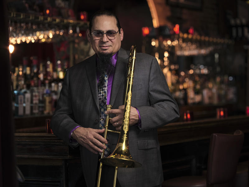 Trombonist Steve Turre features an all-star cast on 'The Very Thought of You'