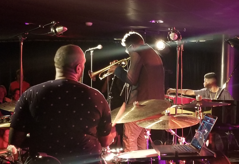 Trumpeter Keyon Harrold performing at the 2018 North Sea Jazz Festival