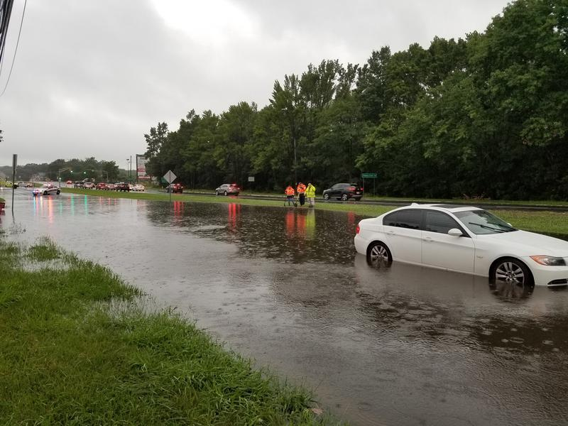 Flooding in Neptune, New Jersey