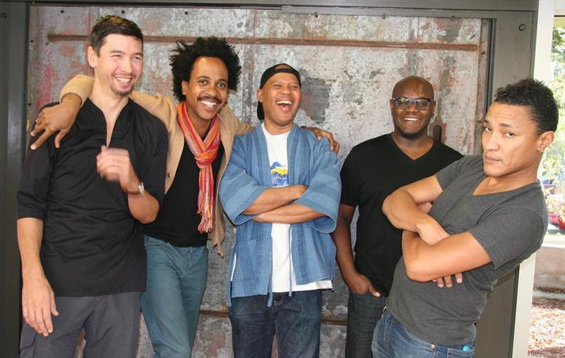 Five Elements: Miles Okazaki, Jonathan Finlayson, Steve Coleman, Anthony Tidd, Sean Rickman