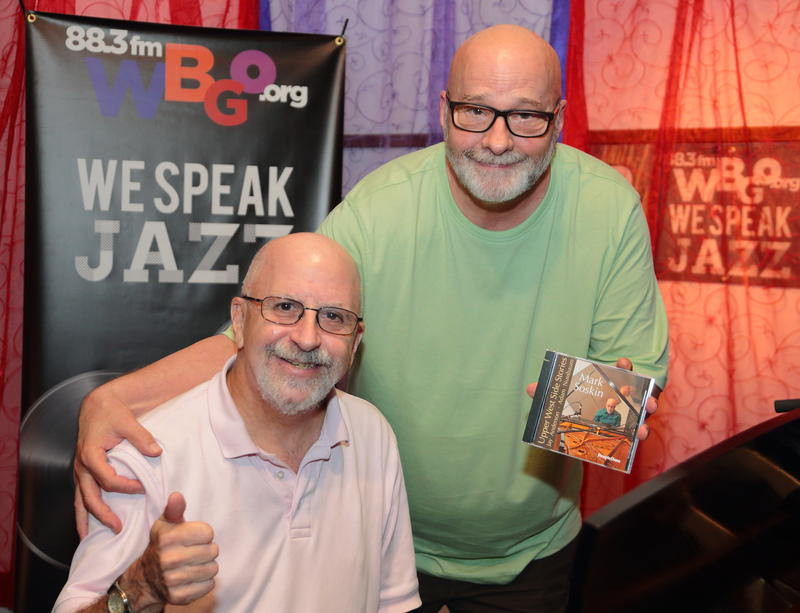 Mark Soskin with WBGO's Gary Walker