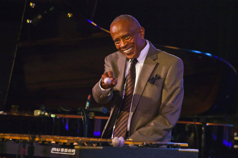 Vibraphonist Bobby Hutcherson, at the Monterey Jazz Festival, in Monterey, Calif. in 2013.