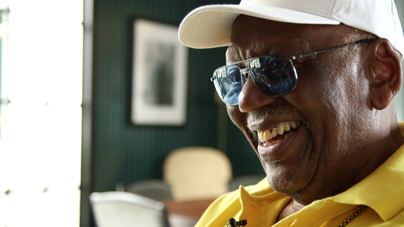 Pianist and composer Randy Weston in Panama, in 2016