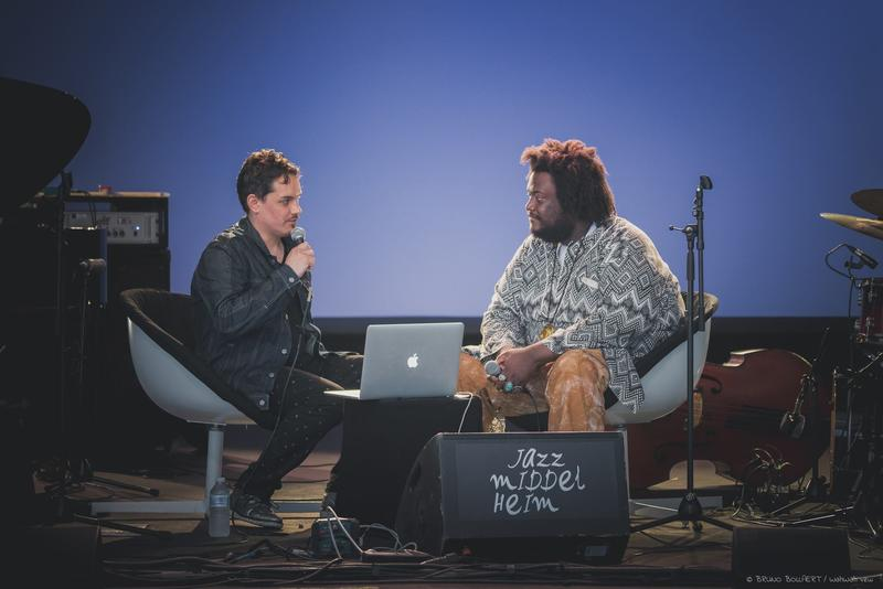 The Checkout's Simon Rentner with Kamasi Washington