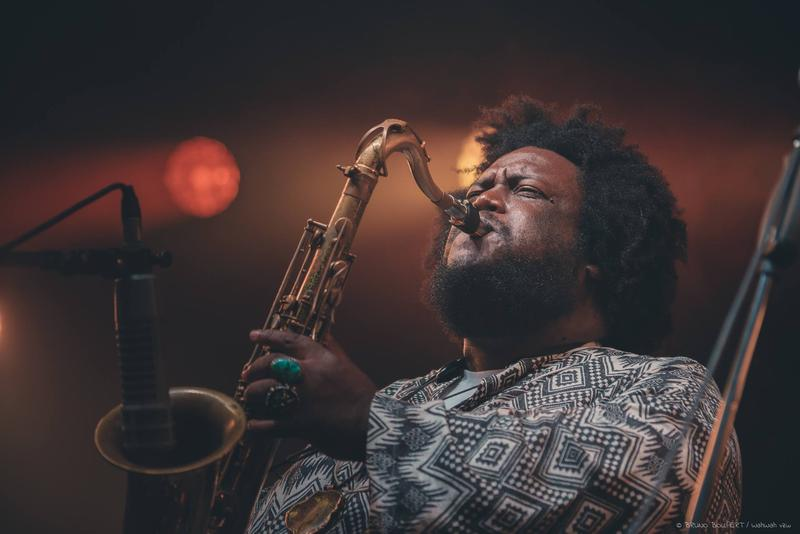 Kamasi Washington Performing at Jazz Middelheim in Antwerp