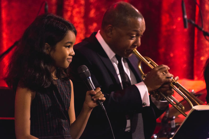 "Wynton Marsalis and his daughter Oni have a new version of ""Winter Wonderland"""