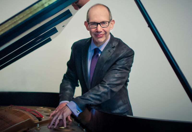 Pianist Ted Rosenthal, whose contribution to the Christmas jazz canon is the 2013 album 'Wonderland.'