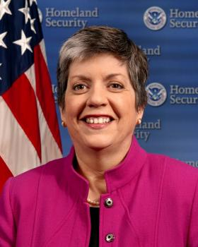 U.S. Secretary of Homeland Security Janet Napolitano.