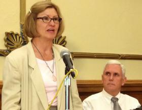 Indiana FSSA Secretary Debra Minott.