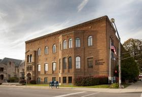 The former Chamber of Commerce building in downtown Fort Wayne