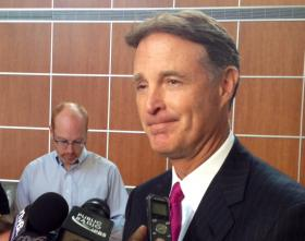Former Indiana Gov. Evan Bayh said Monday he's not ruling out another run for the office.