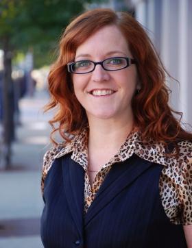 WBOI food columnist Amber Recker.