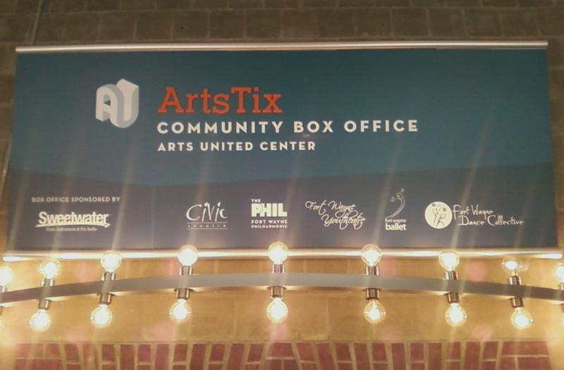 Arts United introduced its new ArtsTix Community Box Office Friday.