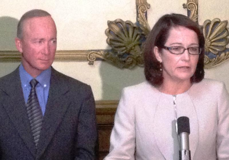 Governor Mitch Daniels named Loretta Rush to the Indiana Supreme Court Friday. Rush is only the second woman ever to serve on the court.