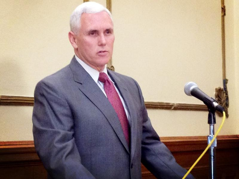 Gov. Mike Pence at a previous event.