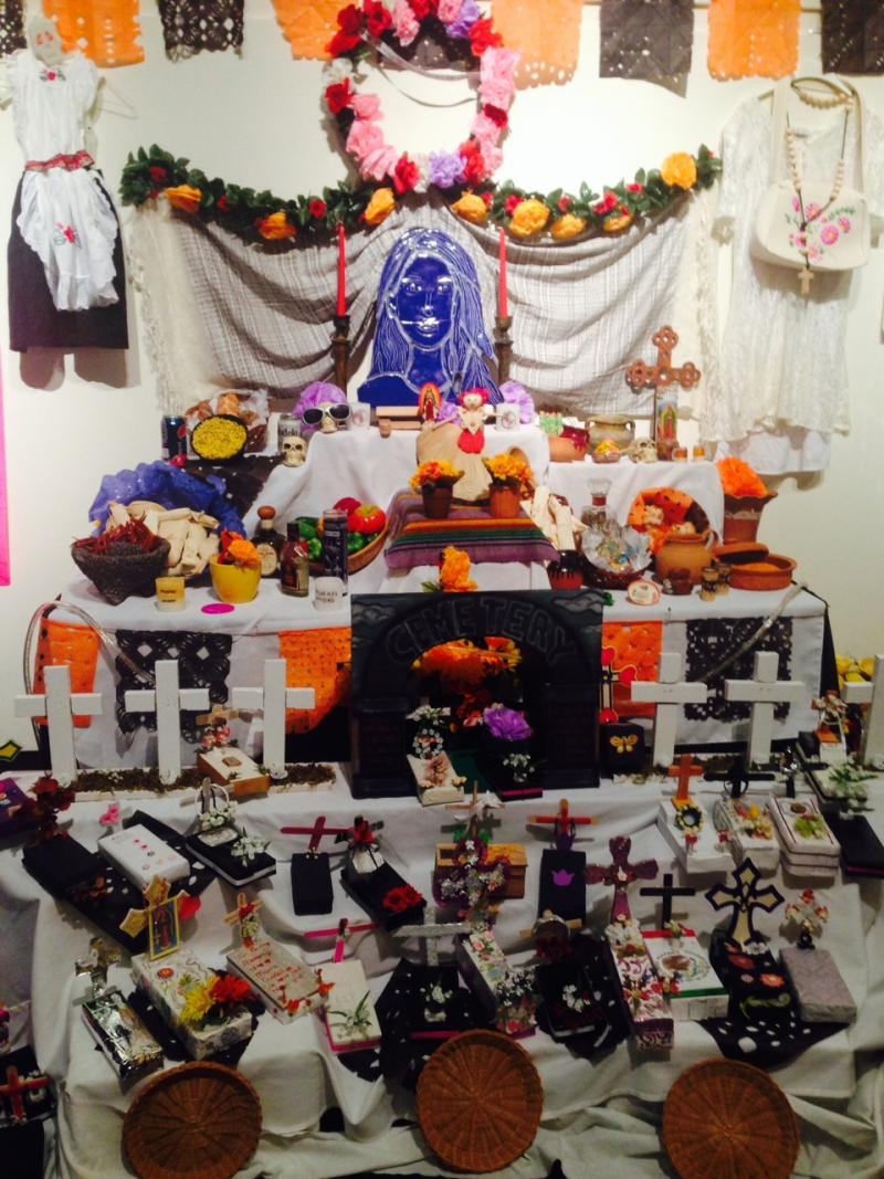 Altar created by The Center for Non Violence