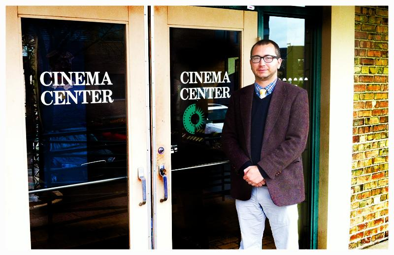 Jonah Crismore at Cinema Center in Fort Wayne.