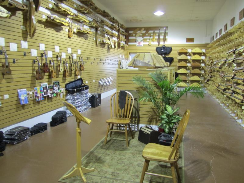 The Folkcraft Instruments showroom.
